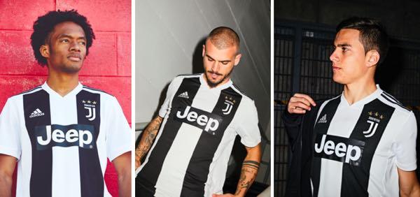 Juventus ecco la nuova divisa casalinga per la stagione calcistica 2018-19