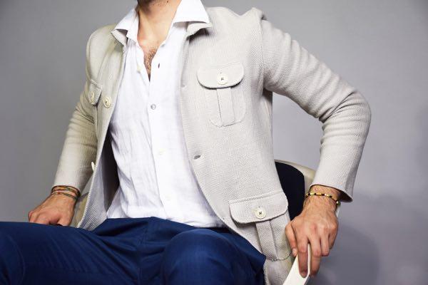 L'eleganza maschile passa ancora per i blazer destrutturati
