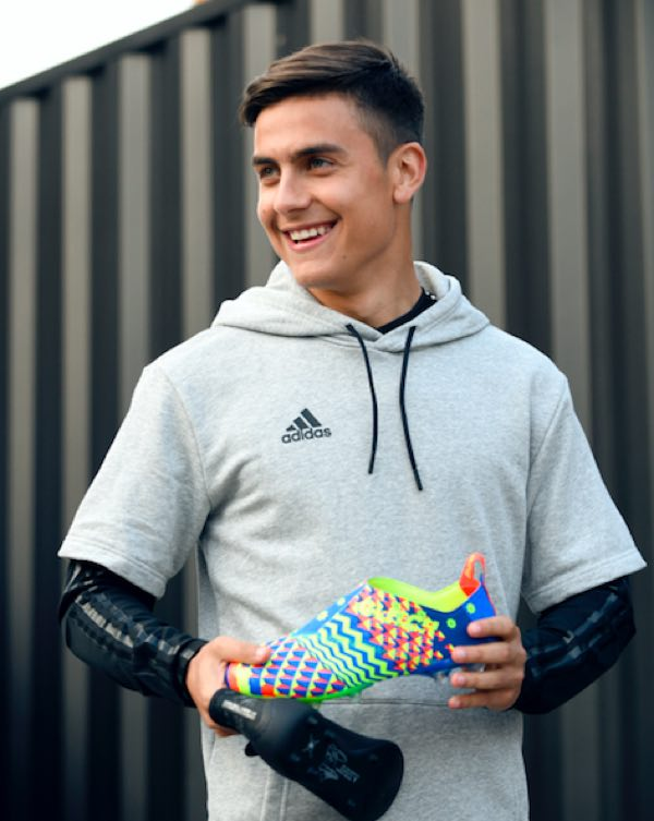 Mondiali 2018, Paulo Dybala attaccante dell'Argentina e le scarpe adidas