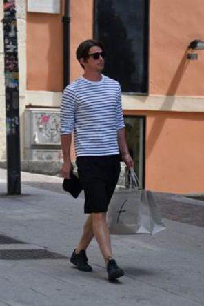 JOSH HARTNETT a Cagliari per il Filming Italy fa shopping