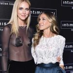 Chiara Ferragni e Sara Jessica Parker insieme all'Intimissimi show a Verona
