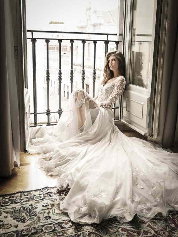 Bianca Balti sposa nel cuore di Milano fotografata da Andrea Varani