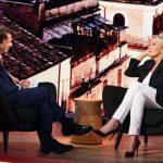 Nicola Porro intervista Marine Le Pen, le foto di Quarta Repubblica