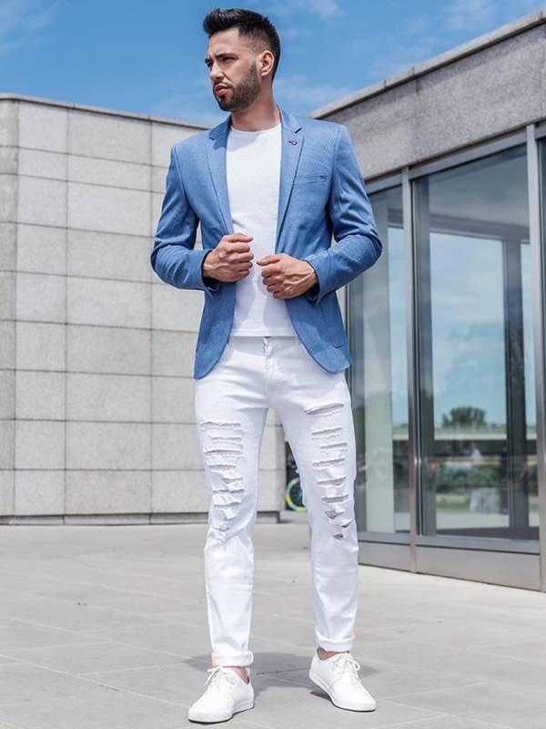c4f56871a8 Moda Uomo primavera 2019 dai blazer alle felpe con colori sgarcianti e di  stile
